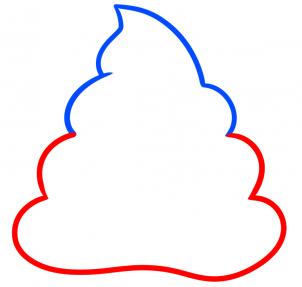 Como Desenhar O Emoji De Coco Poop Ou Cocozinho Aprender A