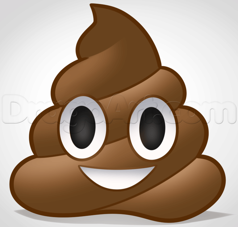 emoji de cocô