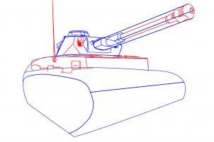 Como Desenhar um Tanque de Guerra
