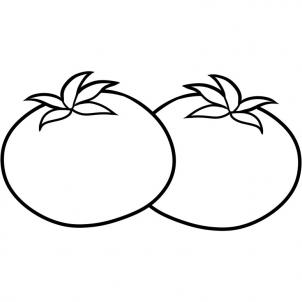 como desenhar um tomate
