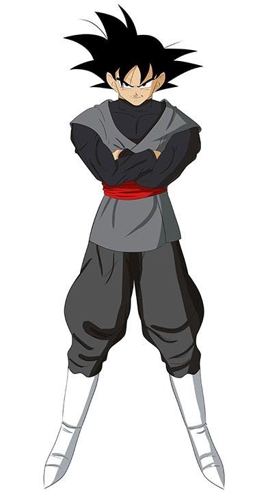 como desenhar o goku black