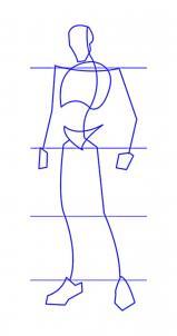 como desenhar um guerreiro