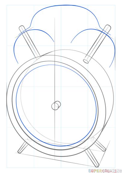 como desenhar um relógio