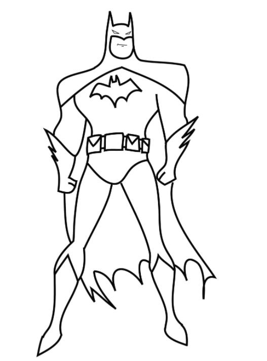 Batman Para Colorir E Imprimir Muito Facil Colorir E Pintar