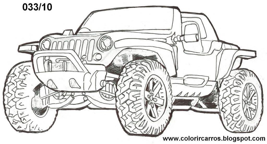 carros para colorir e pintar