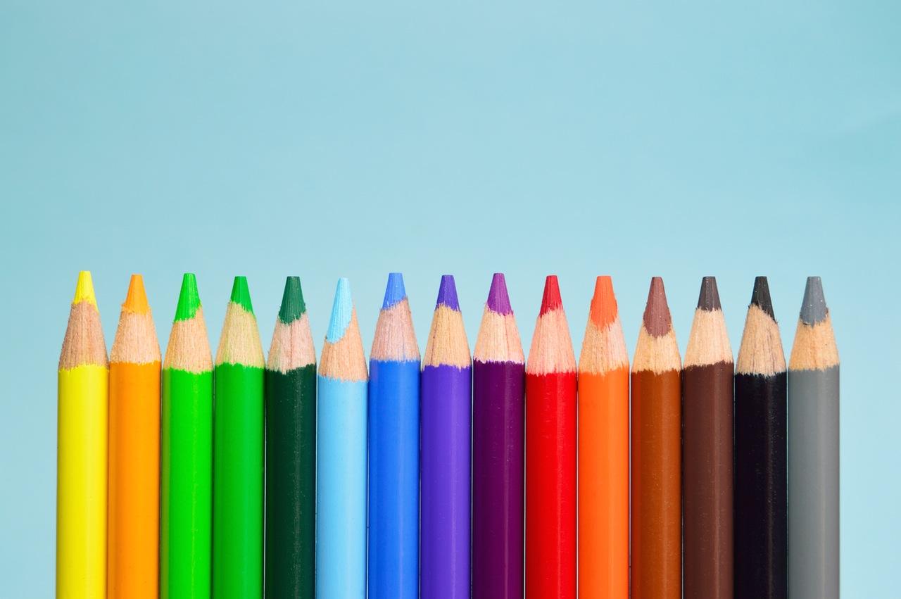 como colorir com lápis de cor