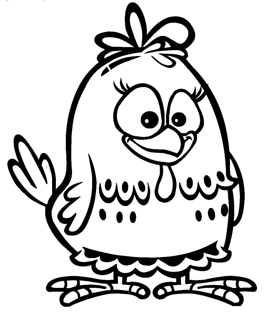 galinha pintadinha para colorir