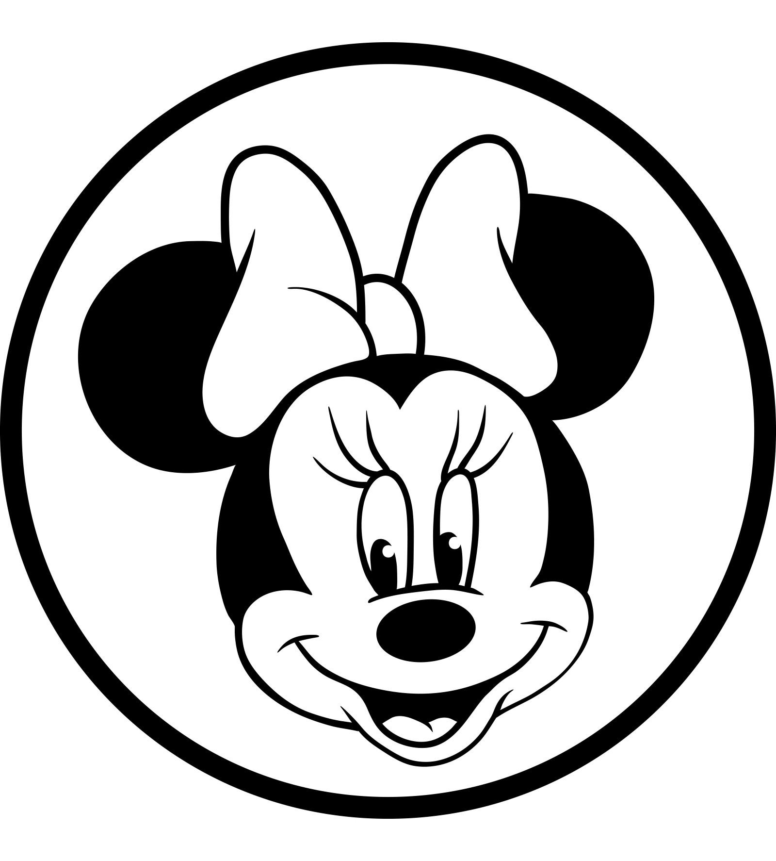 Minnie Para Colorir E Imprimir Muito Facil Colorir E Pintar