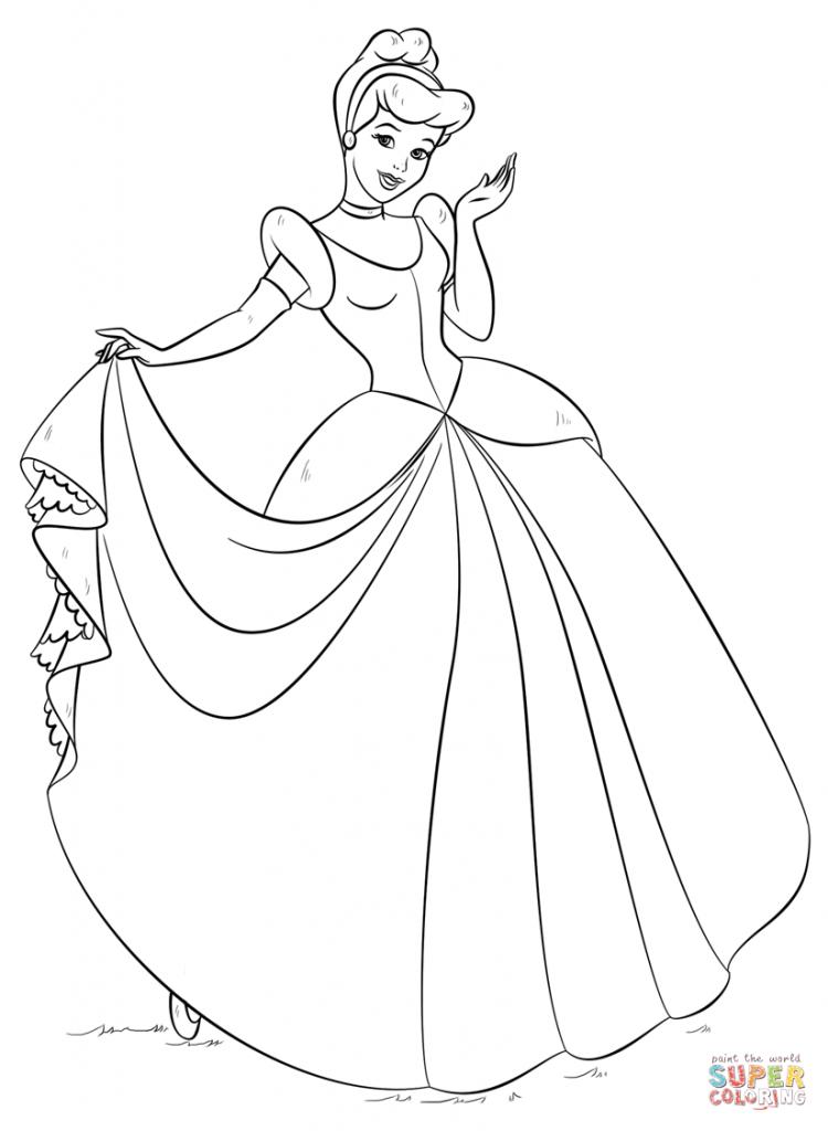 princesas disney para colorir