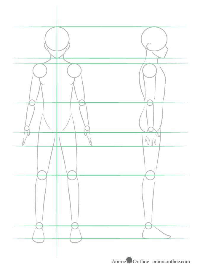 Como Desenhar Um Personagem De Anime Muito Facil Aprender A