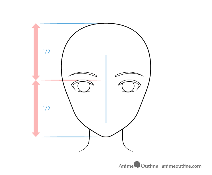 como desenhar um personagem de anime olhos femininos