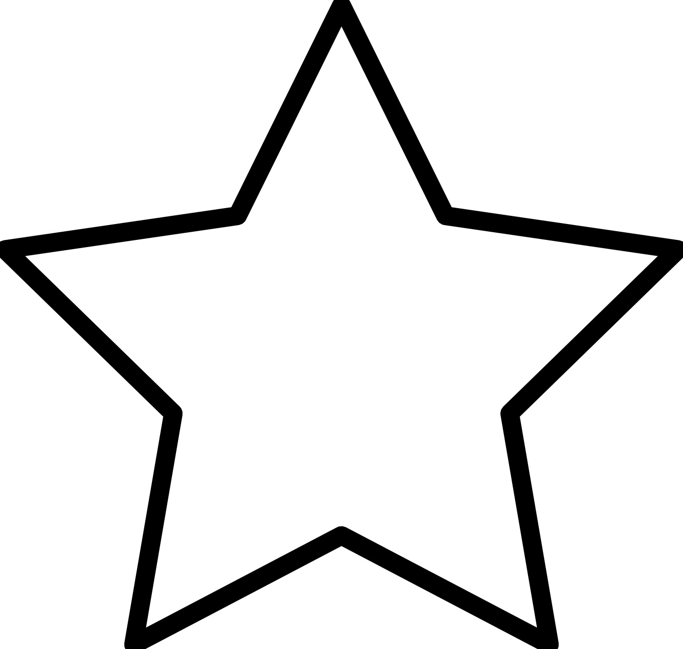 estrela para colorir e imprimir