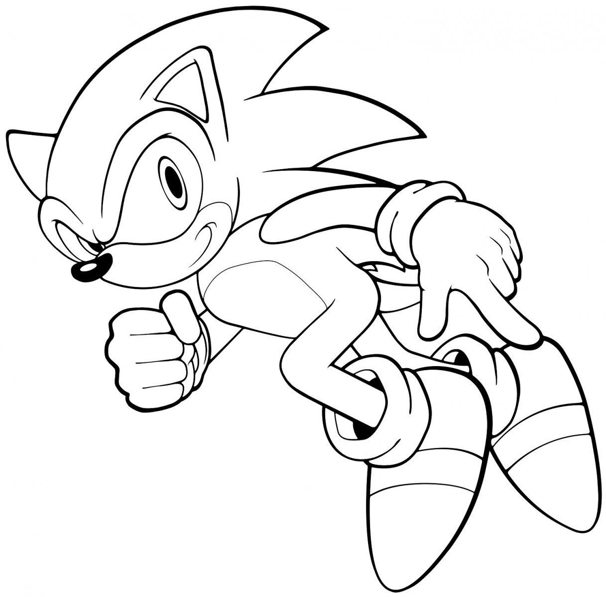 Sonic Para Colorir E Imprimir Muito Facil Colorir E Pintar
