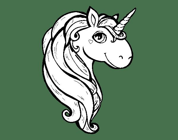Unicórnio para Colorir desenhos 1