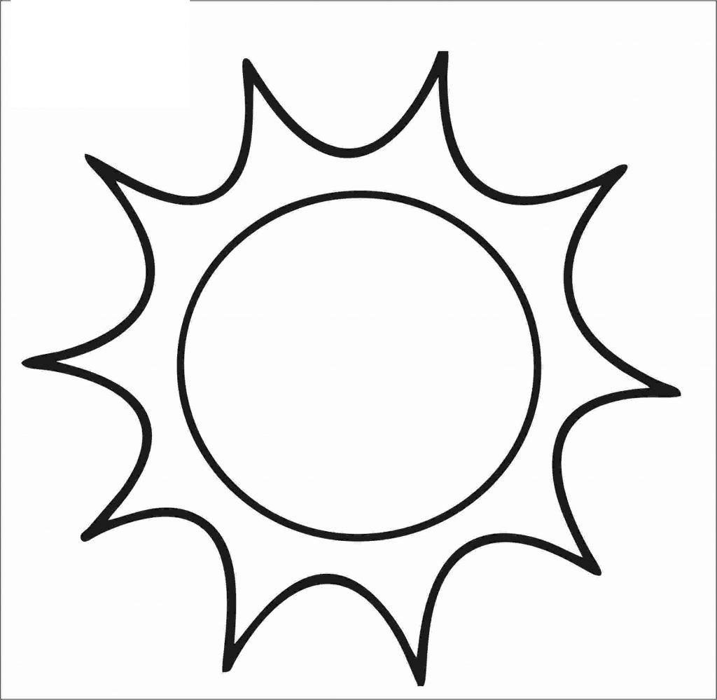 sol para colorir normal
