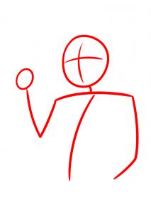 como desenhar o boruto corpo esboço