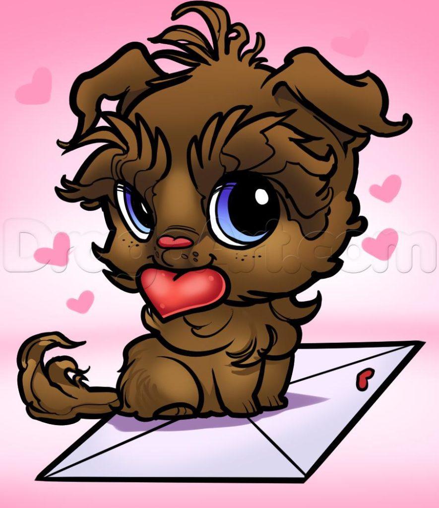 como desenhar um cachorrinho