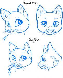 como desenhar um gatinho passo passo