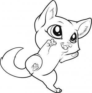 como desenhar um gatinho tutorial
