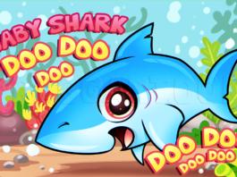 como desenhar baby shark