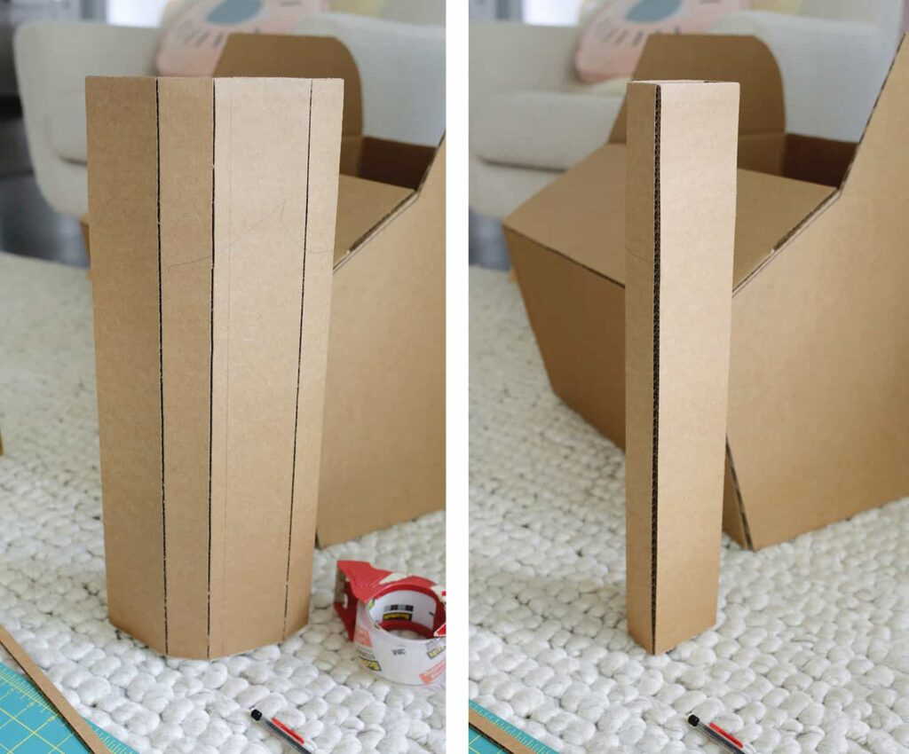 DIY Carrinho de Papelão para Crianças