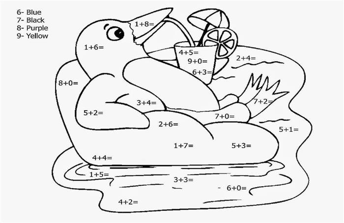 atividade matematica pintar
