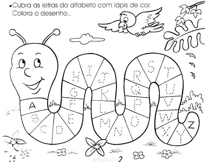 atividades para educação infantil alfabeto
