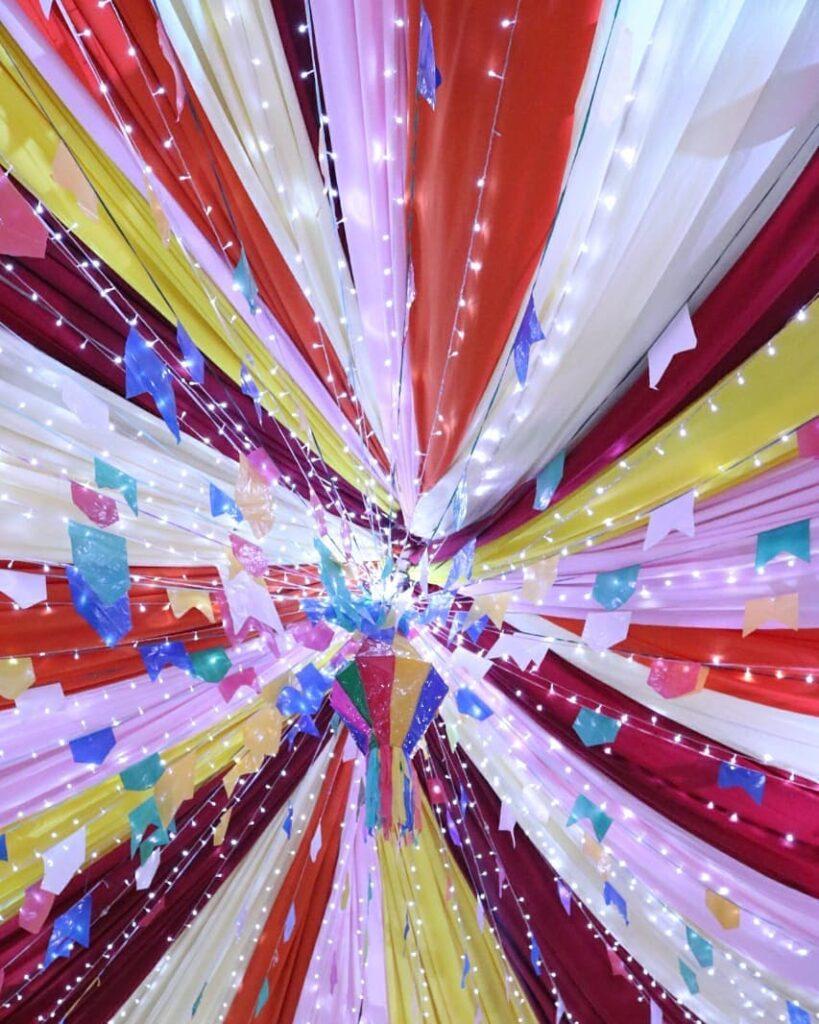 balão de festa junina lindo