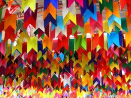 bandeirinhas festa junina imprimir colorir