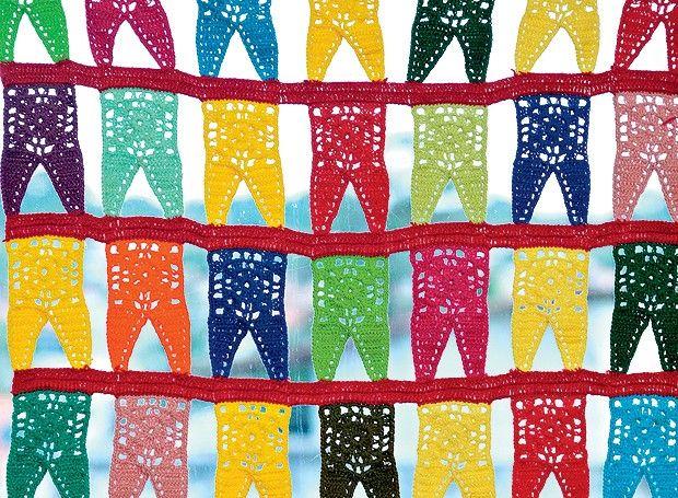 bandeirinhas para festa junina crochê modelos