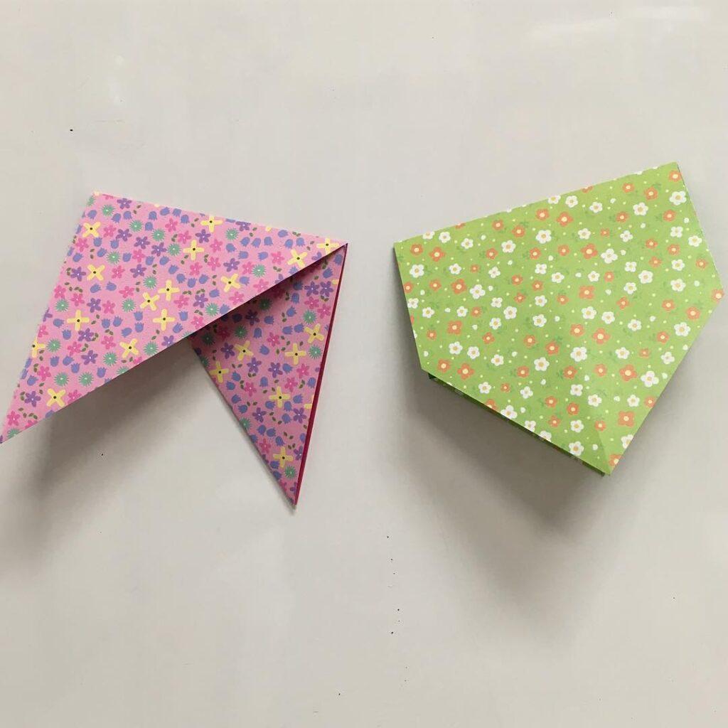 bandeirinhas para festa junina origami