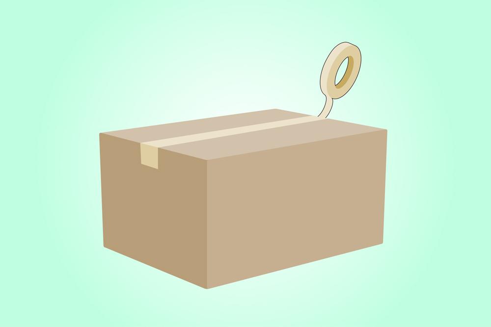 carrinho de papelão