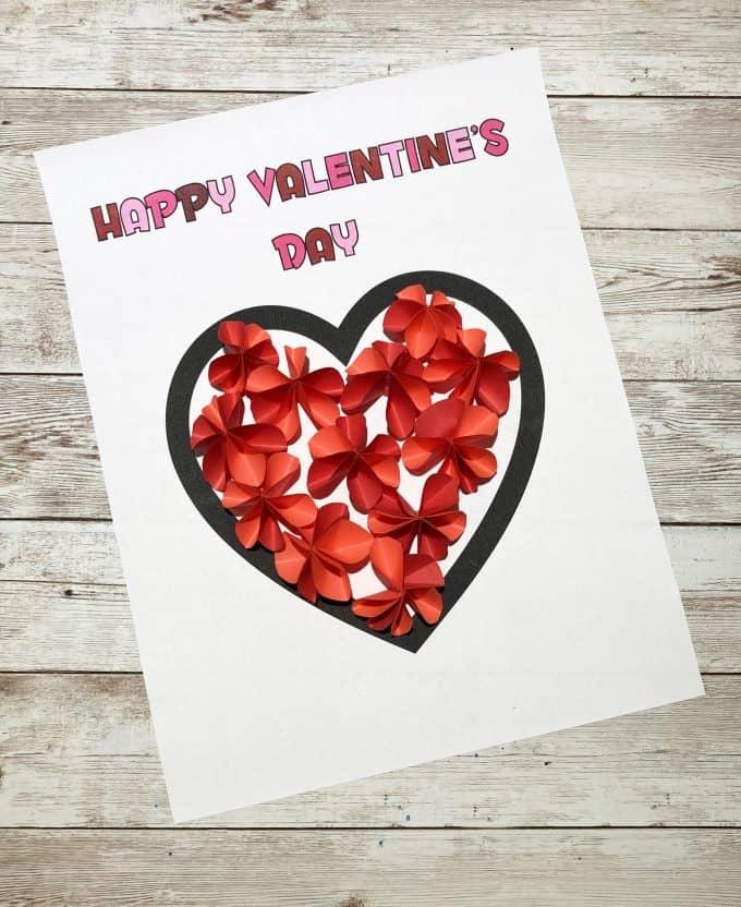 cartão de flores dia dos namorados