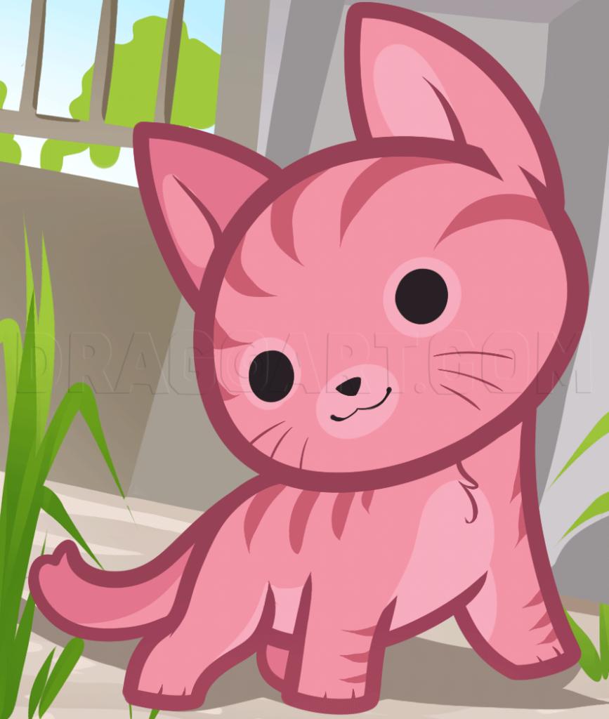 como desenhar animais kawaii