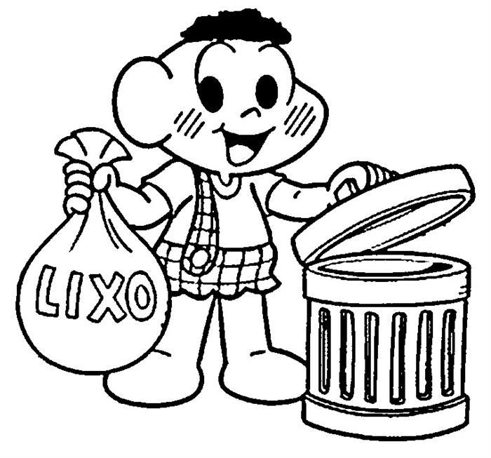 descarte certo educação infantil lixo