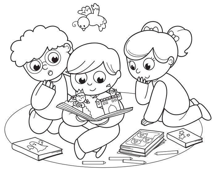 desenho colorir imprimir crianças aprender