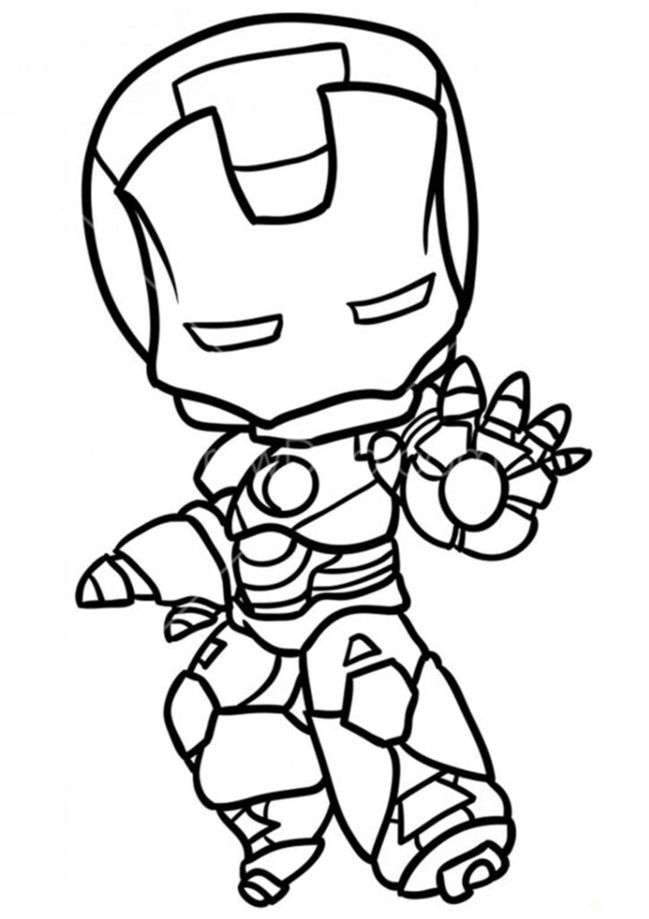 desenho kawaii herói