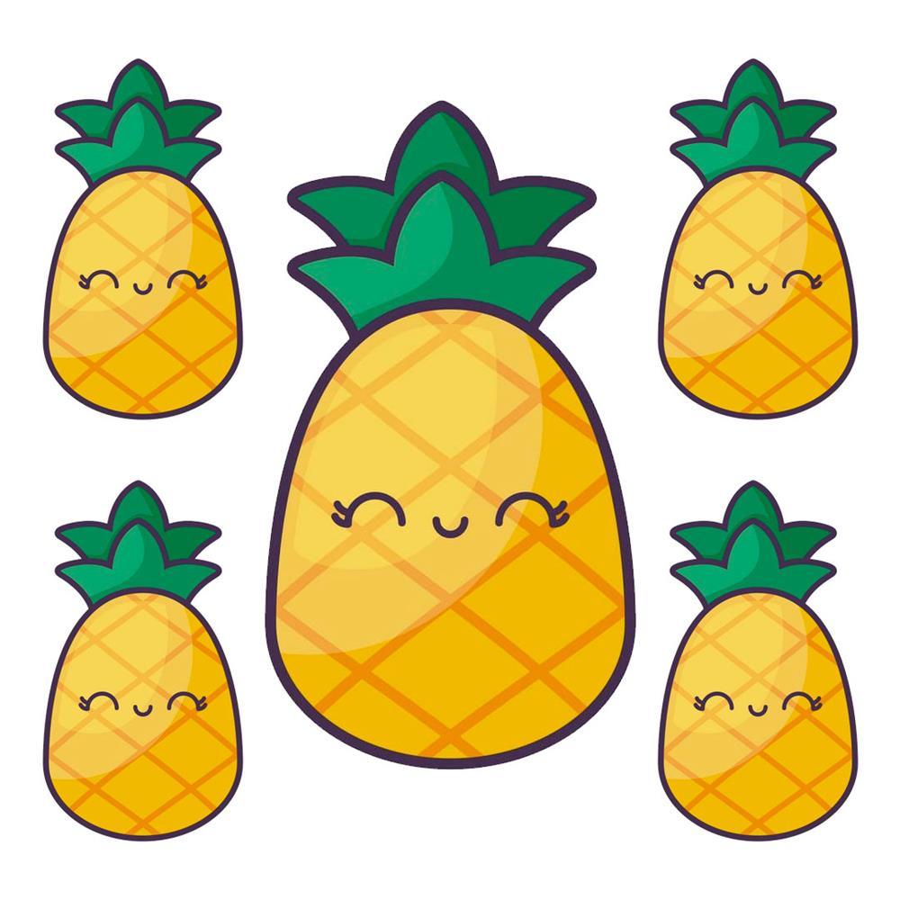 desenhos kawaii abacaxi