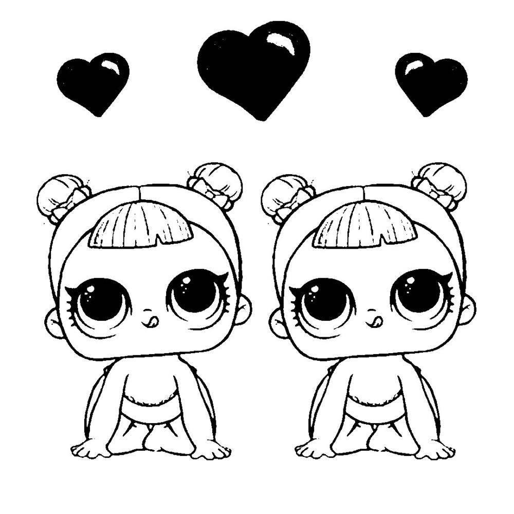 desenhos-kawaii bonequinhas para colorir