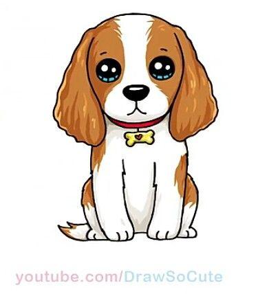 desenhos kawaii cão