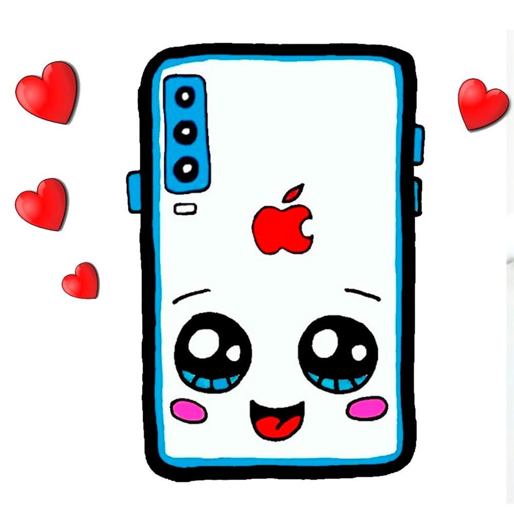 desenhos-kawaii-celular