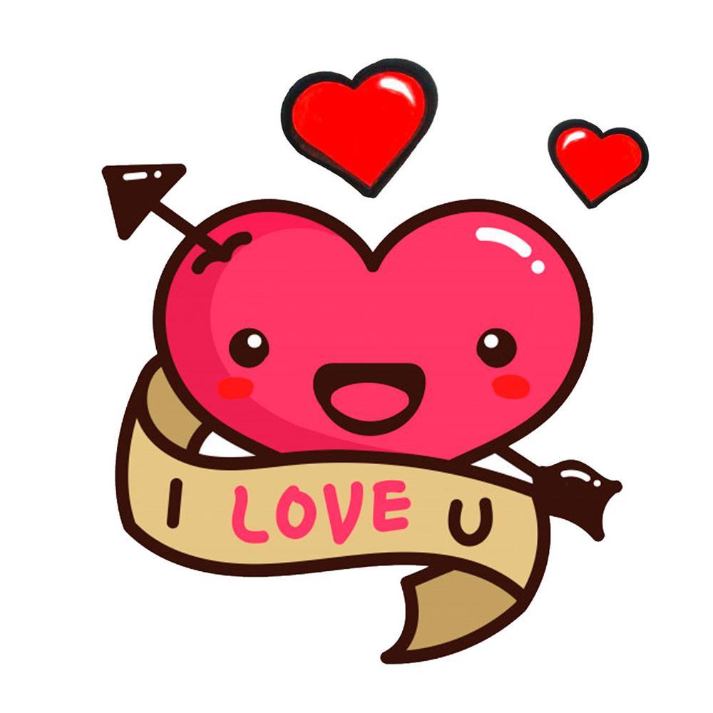 desenhos kawaii coração