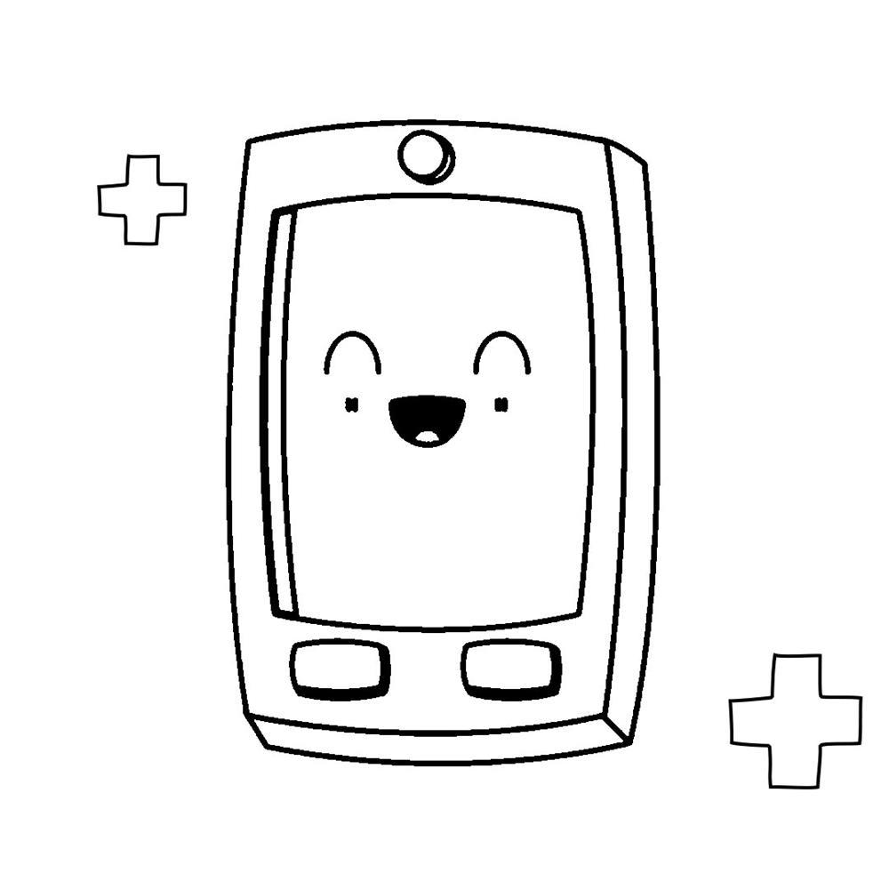 desenhos-kawaii-de-aplicativos colorir