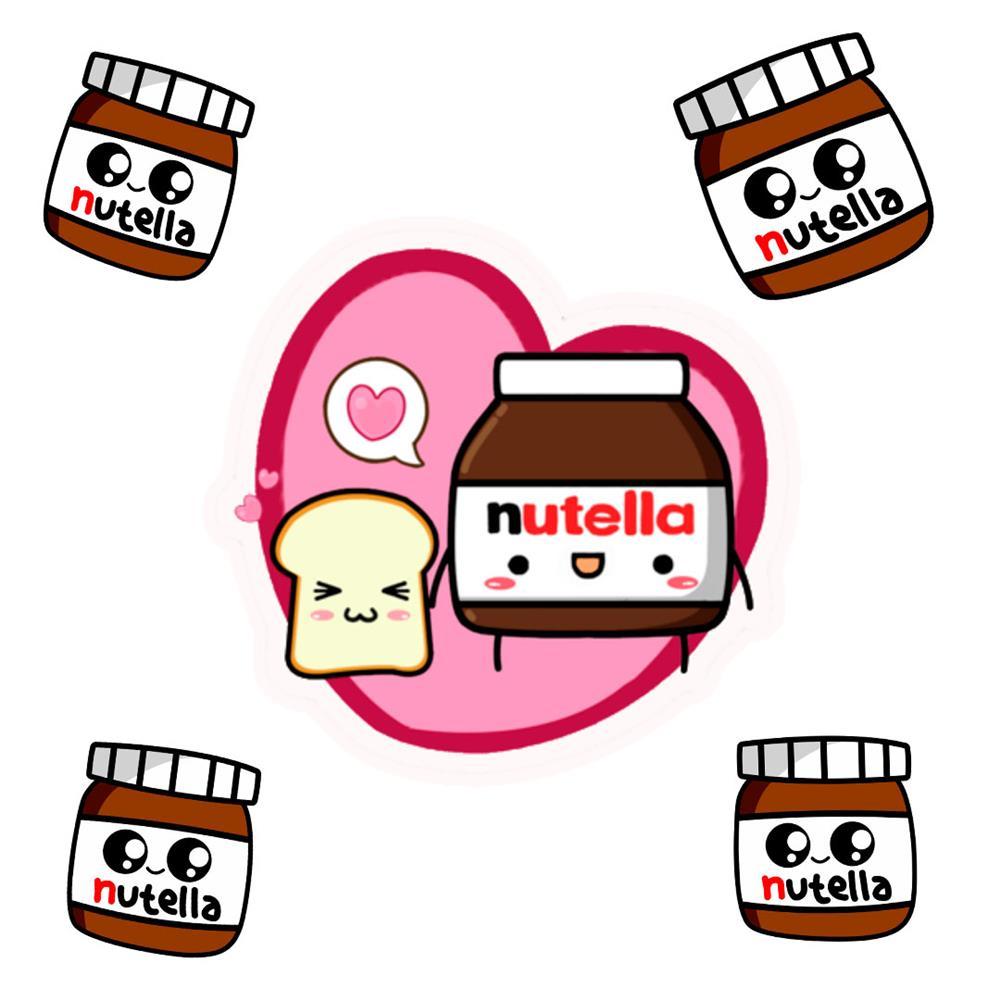 desenhos-kawaii-de-nutella