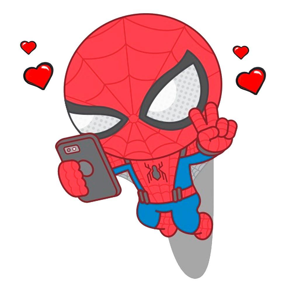 desenhos-kawaii-do-homem-aranha fofo