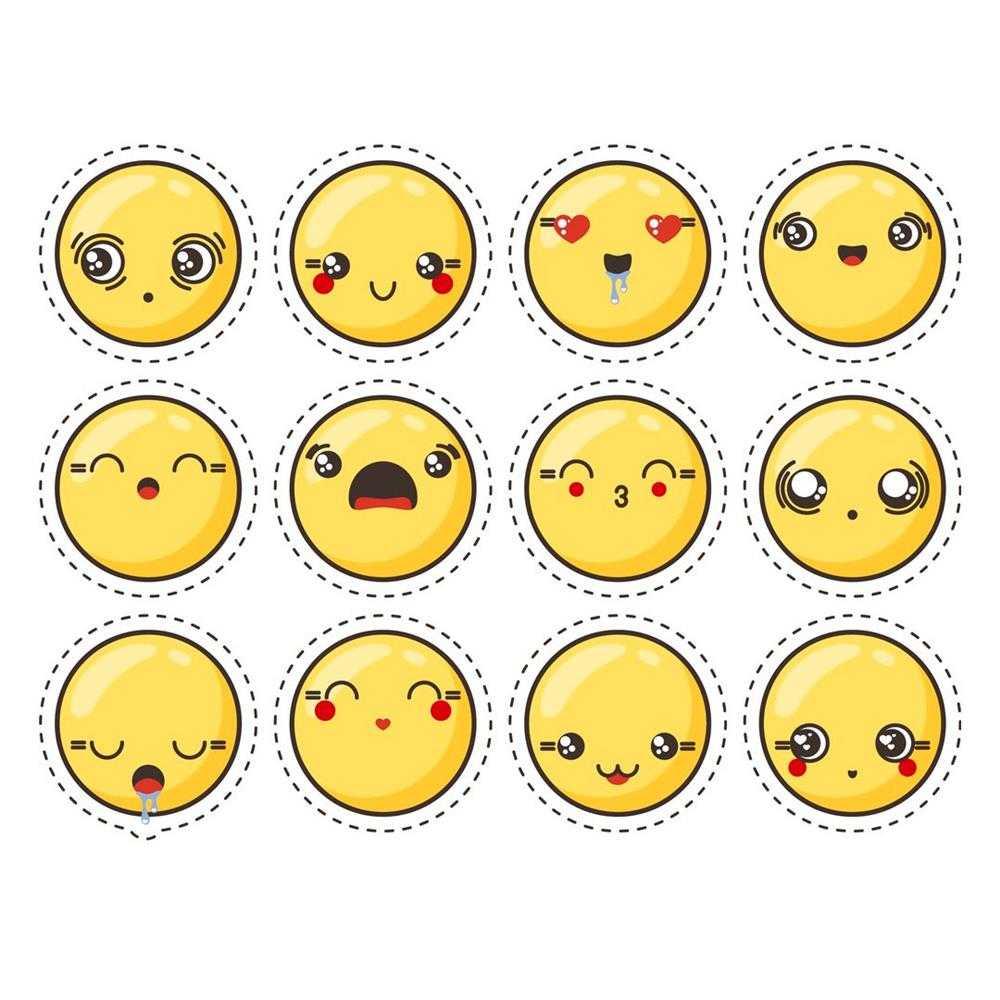 desenhos kawaii emojis