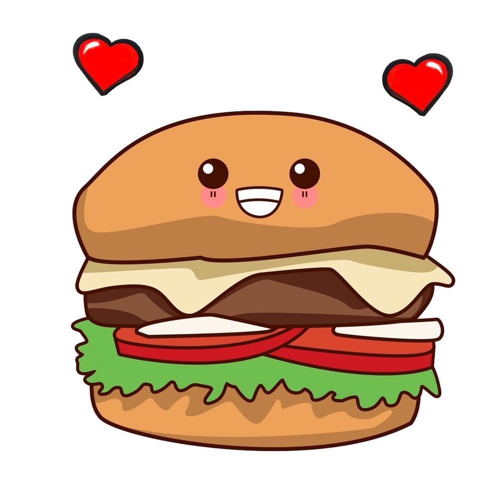 desenhos-kawaii-hamburger