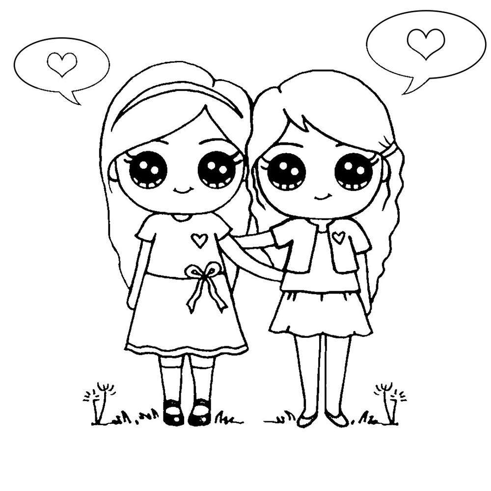 desenhos kawaii meninas