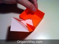 dobradura de caixa desenho
