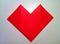 dobradura de coração